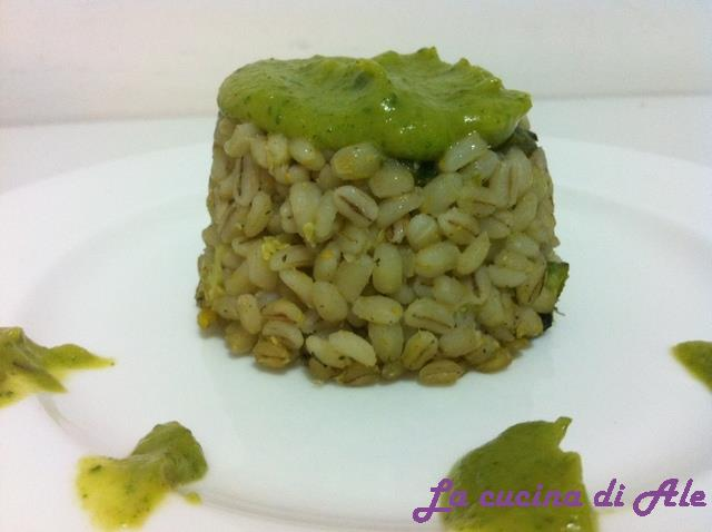 Orzotto green